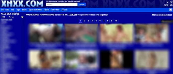 XNXX eine der beliebtesten Sex Tube Webseiten