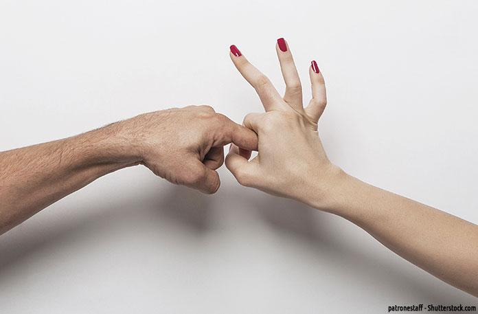 Frau fingern