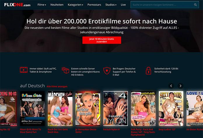 FlixOne - sichere Porno Videothek