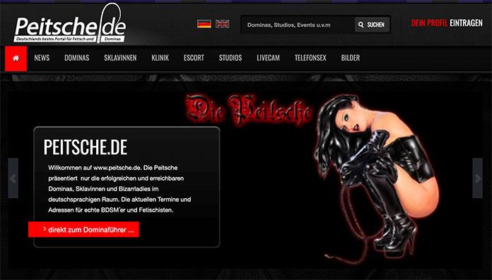 BDSM-Kontakte auf Peitsche.de finden