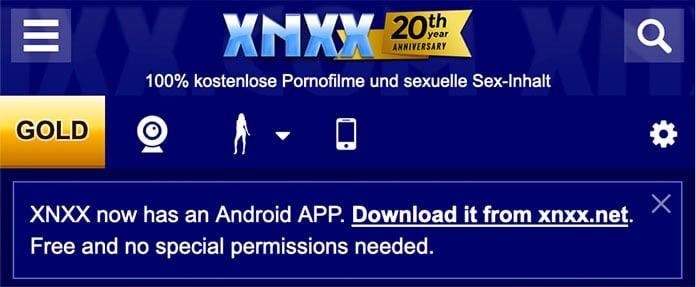 XNXX Porn-App