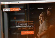 KlickDoktor.com-Startseite