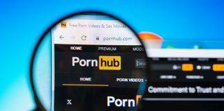 Pornhub-Startseite