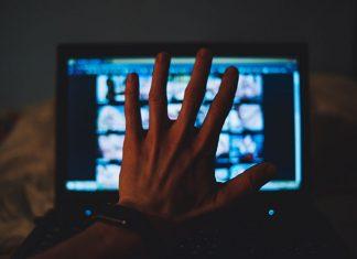 Porno Werbung auf Website