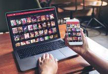 Nutaku App Mobile und Desktop Ansicht